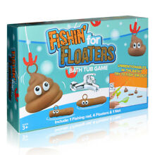Fishing For Floaties Floaters Novelty Poo Game Kids Bath Time Fun Water HOT TOY