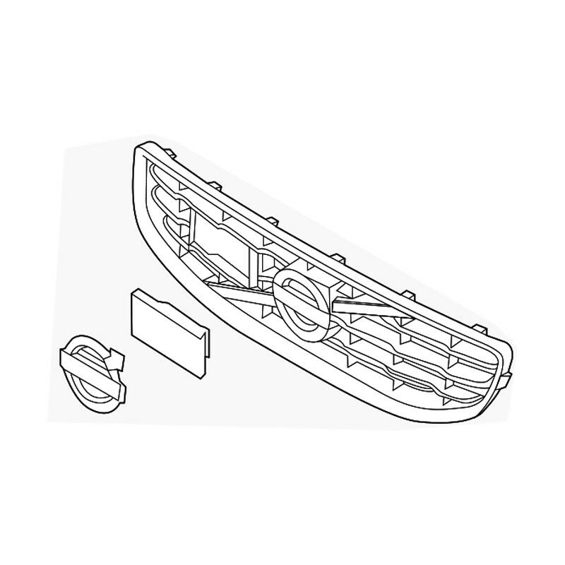 Grille Genuine For Volvo 31383596