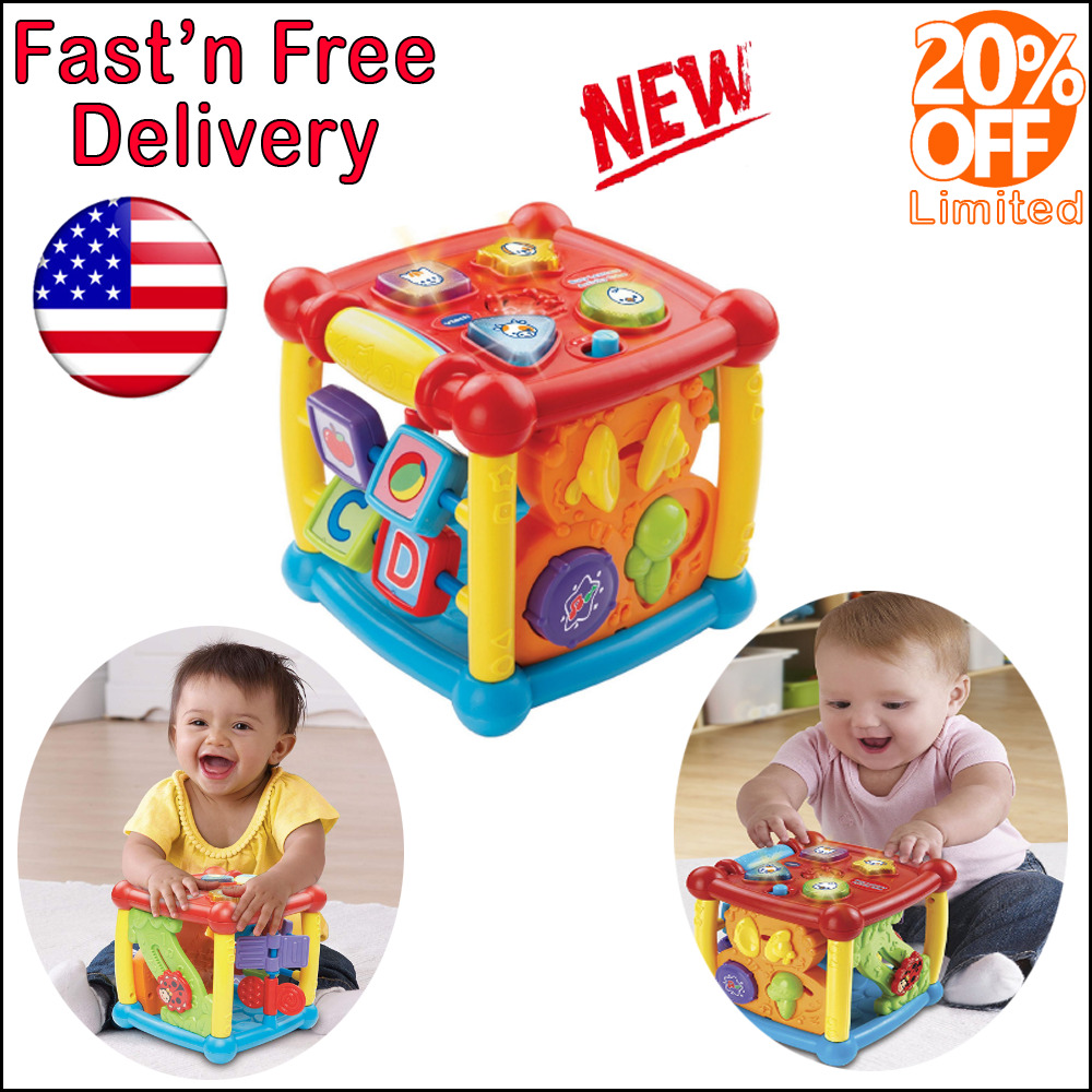 Details about Developmental Toys For 6 Months 1 2 3 Years Boys Girls Toddler Preschool Learn