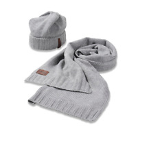 DIESEL Hat  Scarf Mens Set One Size In Gift Box Beanie Winter Warm New Boys Mens