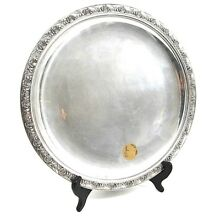 Reed & Barton Sterling Silver Salver 10