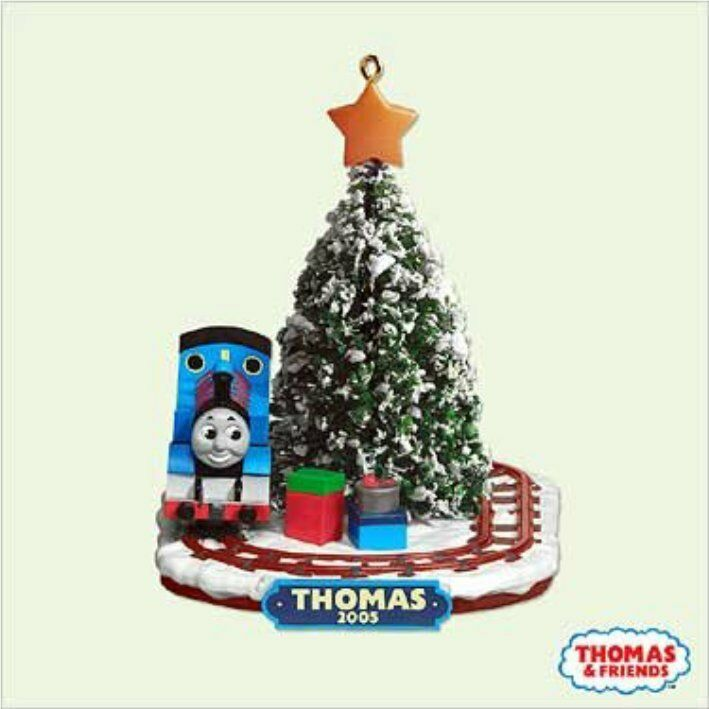 Details about THOMAS THE TANK & FRIENDS-2005 HALLMARK ORNAMENT CHRISTMAS  TRAIN TRACKS **NIB** - THOMAS THE TANK & FRIENDS-2005 HALLMARK ORNAMENT CHRISTMAS TRAIN