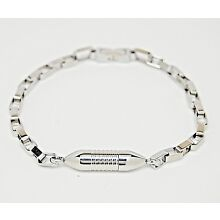 Cremation Bracelet in Hypo-Allergenic Stainless Steel || Ashes Keepsake Jewelry