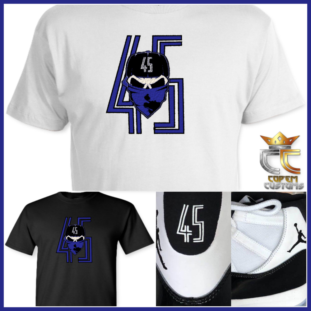 4ea8e62bd980 Details about EXCLUSIVE TEE T SHIRT  2 to match NIKE AIR JORDAN 11 CONCORD  2018