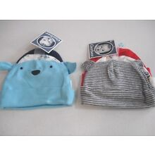 Gerber Baby Boys 6 Pack Caps NEW Size 0-6 Months Choose Adorable Designs