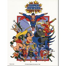 DC SUPER POWERS PRINT - TEAM (A)