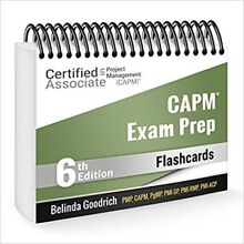 CAPM Exam Prep Flashcards (PMBOK Guide, 6th Edition) Spiral-bound
