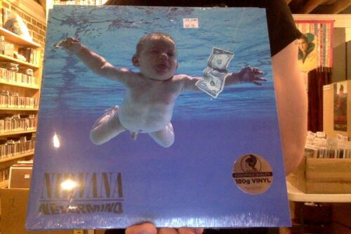 Nirvana Nevermind LP sealed 180 gm vinyl *Pressed at Pallas* RE reissue