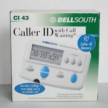 Bellsouth Call Waiting Caller ID System 90 ID Memory - CI 43 - New Open Box