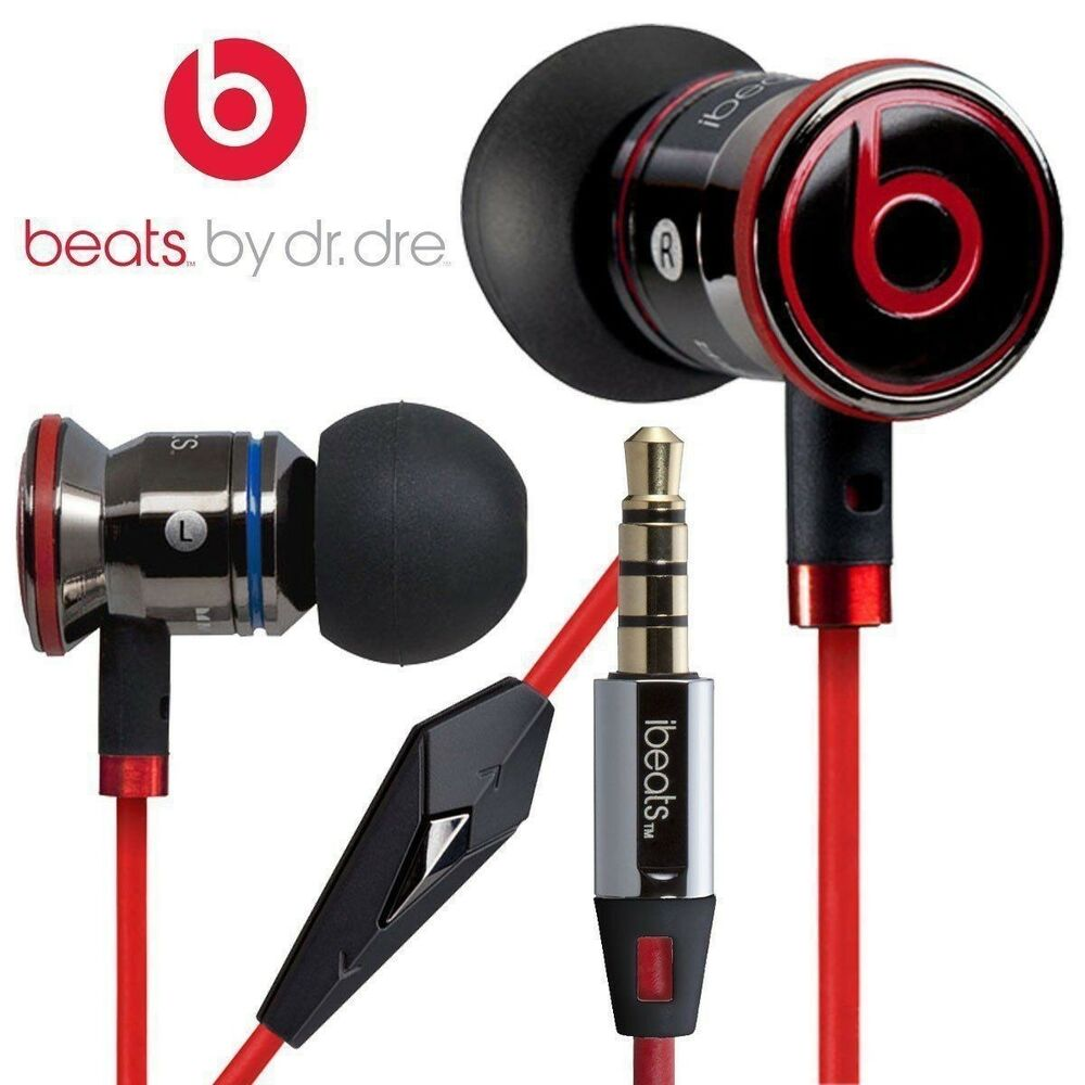 Dettagli su Genuine Monster Beats by Dr. Dre iBeats In Ear Cuffie Auricolari  Nero Regno Unito- mostra il titolo originale ebd861589f79