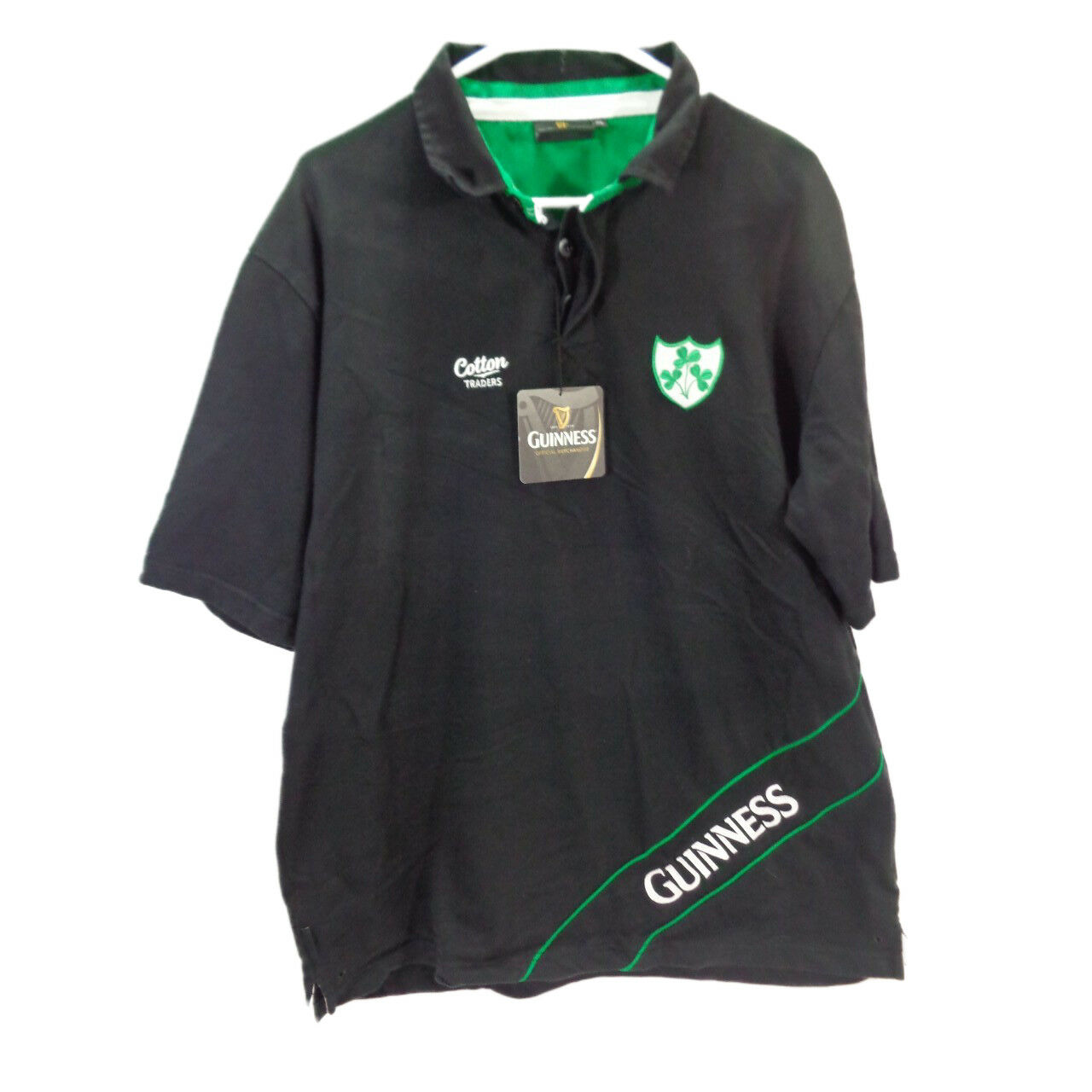 7b4dc6b16c1 Guinness Rugby Shirt Cotton Traders | Top Mode Depot