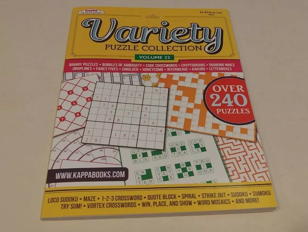 Kappa Variety Puzzle Collection Vol 22 Ebay