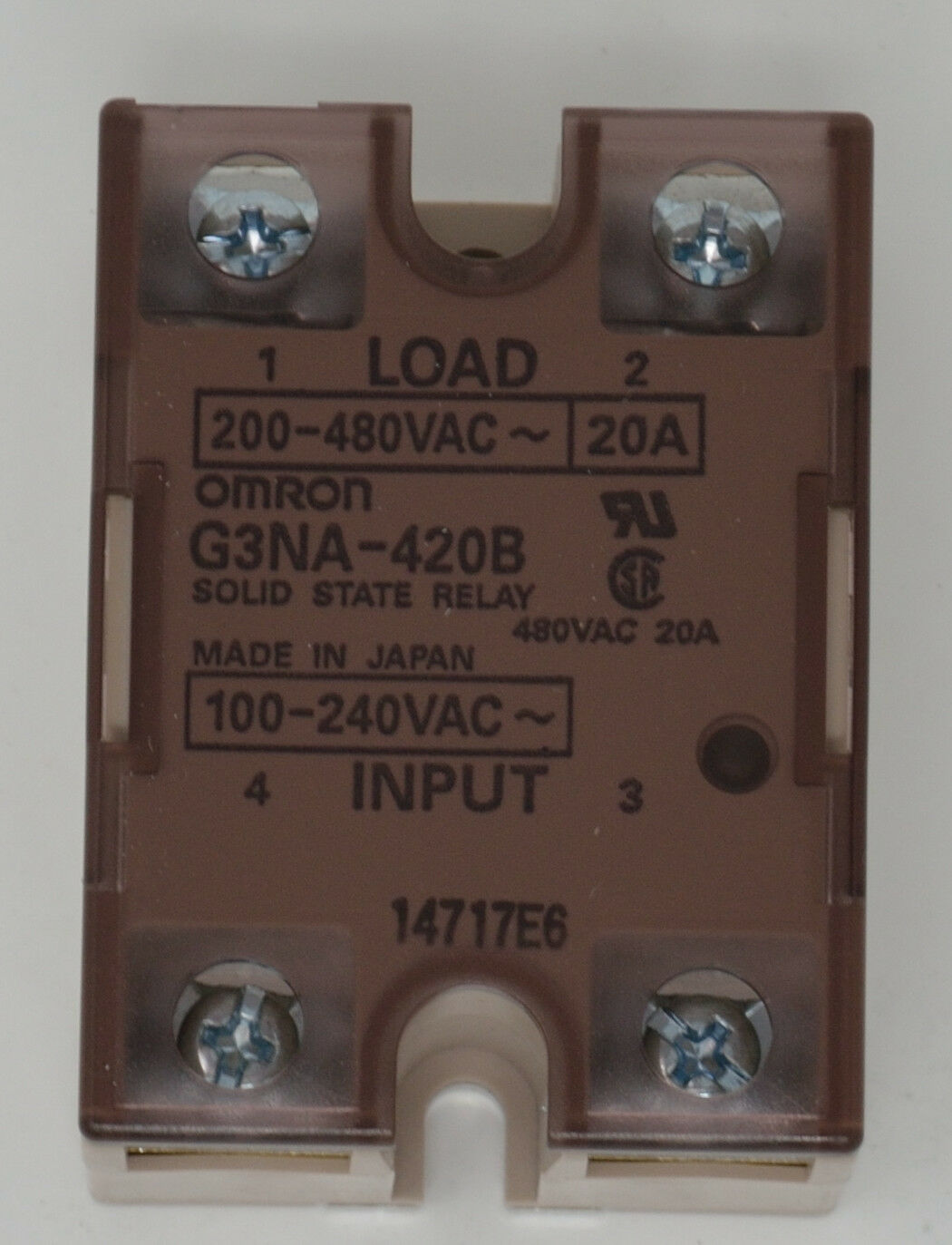 Omron Solid State Relays UPC & Barcode   upcitemdb.com on