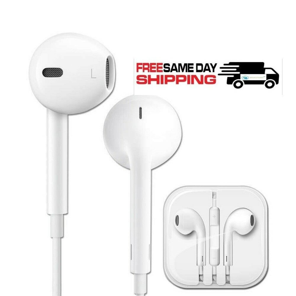 da285c997ac53d Details about NEW Headphones Earphones With Remote & Mic For Apple iPhone  6S 6 5 5S 4S Plus