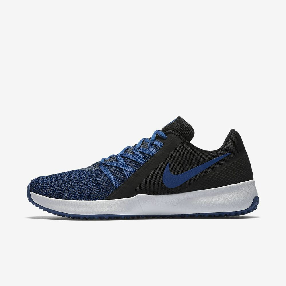 reputable site cddde cd2b0 Details about Nike Varsity Compete Trainer AA7064-004 Blue Black White Men s  Training Shoes