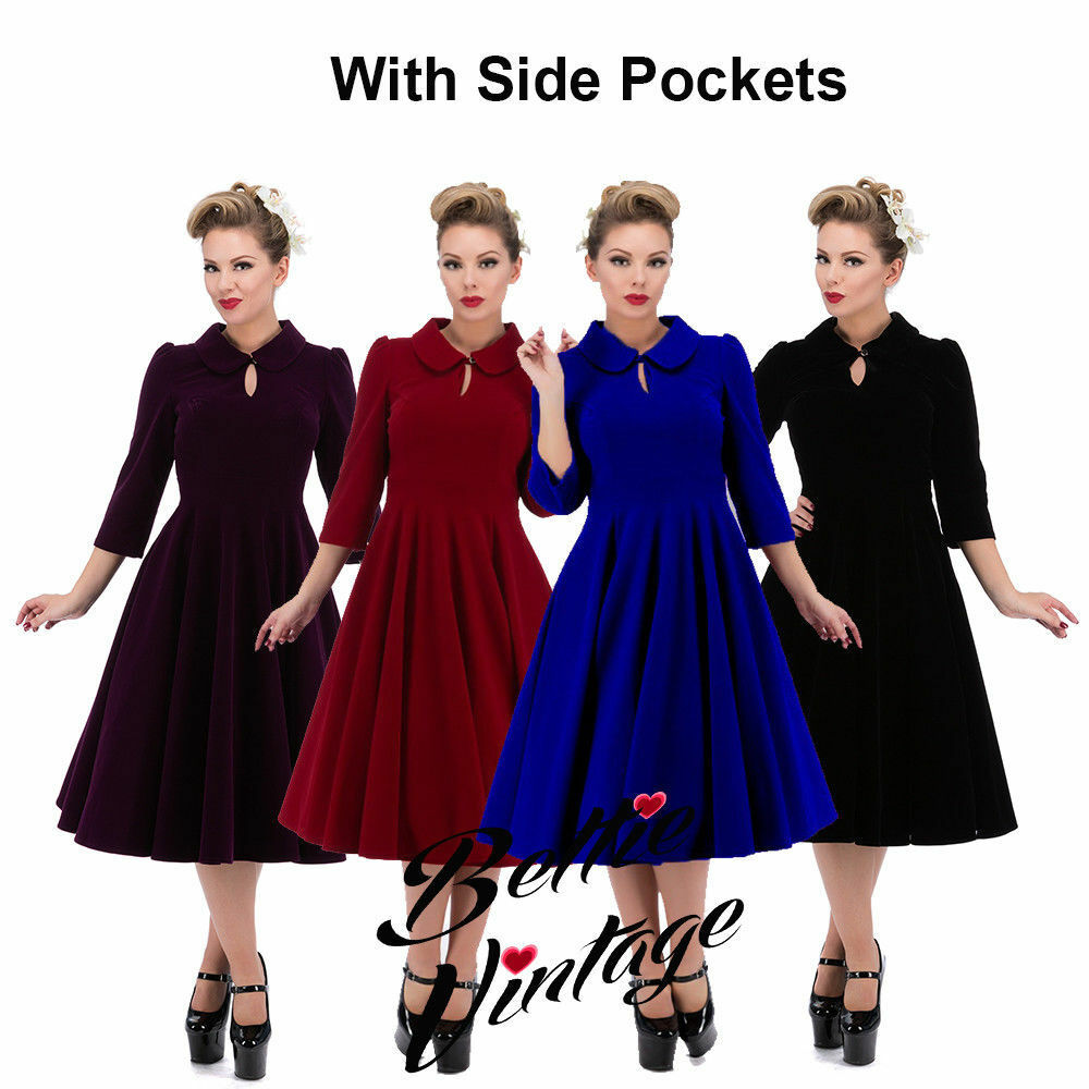 Retro Dresses Uk Plus Size | Saddha