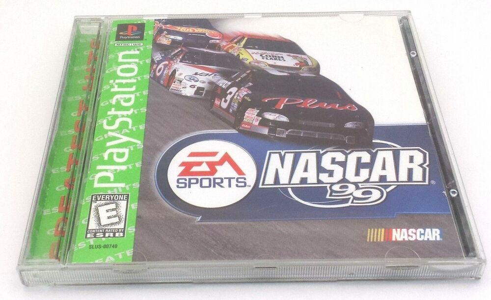 Nascar 99 Sony Playstation 1 1998 Ps1 Ps2 Complete W Manual Tested 14633078992 Ebay