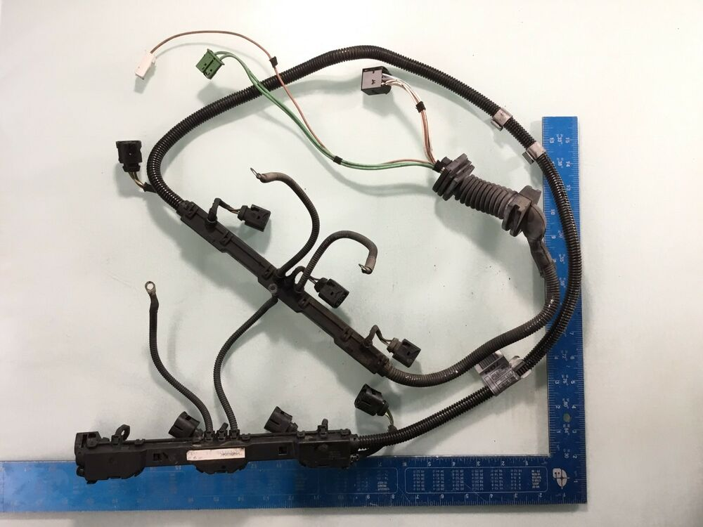 details about 06 07 08 09 10 bmw e63 650i engine ignition coil wiring  harness r