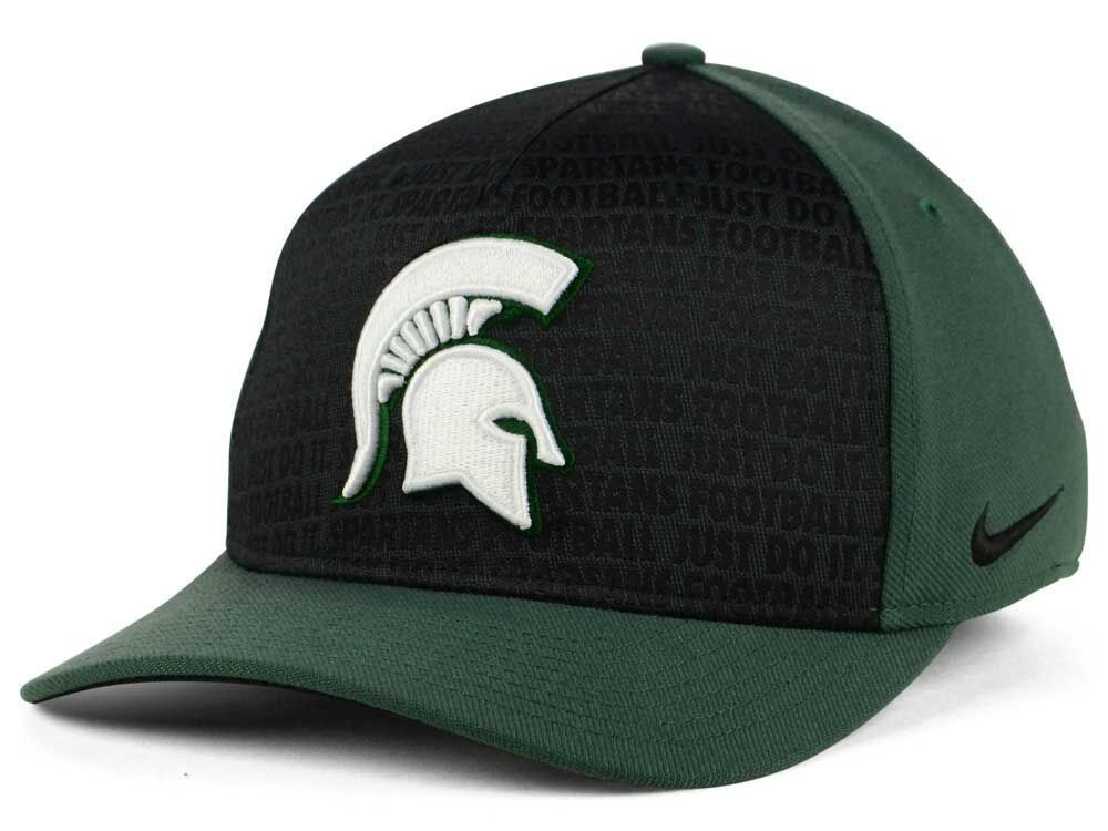 53c100a4f1dc5 ... heritage 86 performance adjustable hat b18b8 78ece  reduced details  about michigan state spartans nike ncaa just do it swooshflex cap nwt m l  ef473