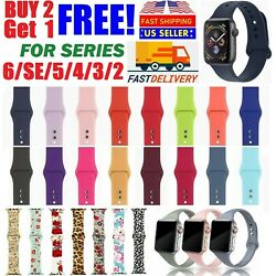 Kyпить Silicone Nylon Sport Band Strap for Apple Watch Series 5 4 3 2 1 42/44mm 38/40mm на еВаy.соm