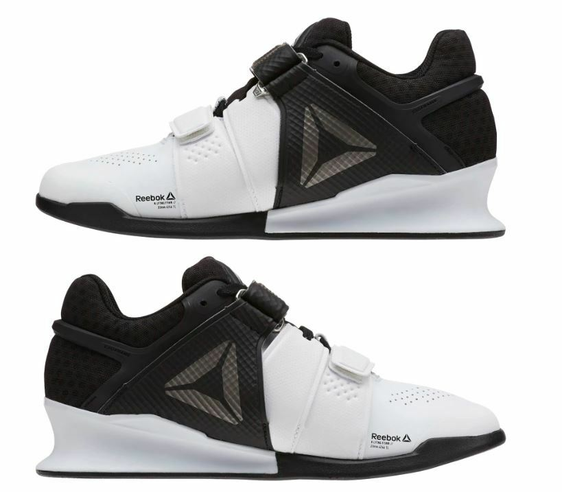 4a03cd99da1 Details about Reebok Legacy Lifter Women s Weightlifting Training Crossfit  White Black BD4730