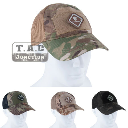 img-Emerson Outdoor Tactical Cap Back Mesh Baseball Caps Hat Hunting Headwear Patch