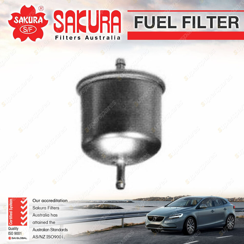 details about sakura fuel filter for nissan 280 280c 280zx 300zx z32 petrol  6cyl v6 2 8 3 0l