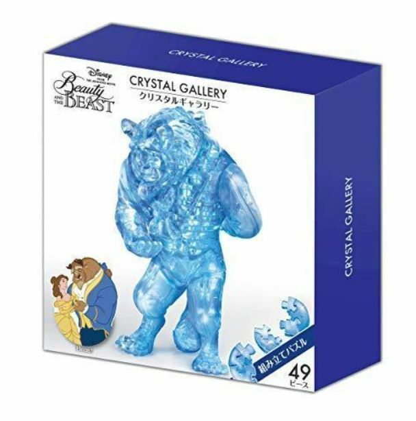 Hanayama Crystal Gallery 3D Puzzle Disney Beauty And
