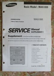sony xr m500r m550 cassette car stereo service manual