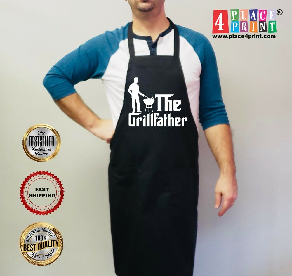 Details about Personalized Mens - Grilling Grill Aprons - Gifts For Dad - Fathers Day & Personalized Mens - Grilling Grill Aprons - Gifts For Dad - Fathers ...