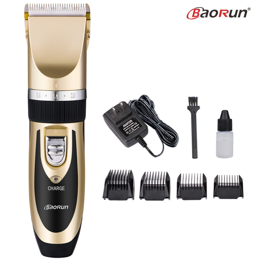 Professional Electric Hair Trimmer Clipper Mens Shaver Barber