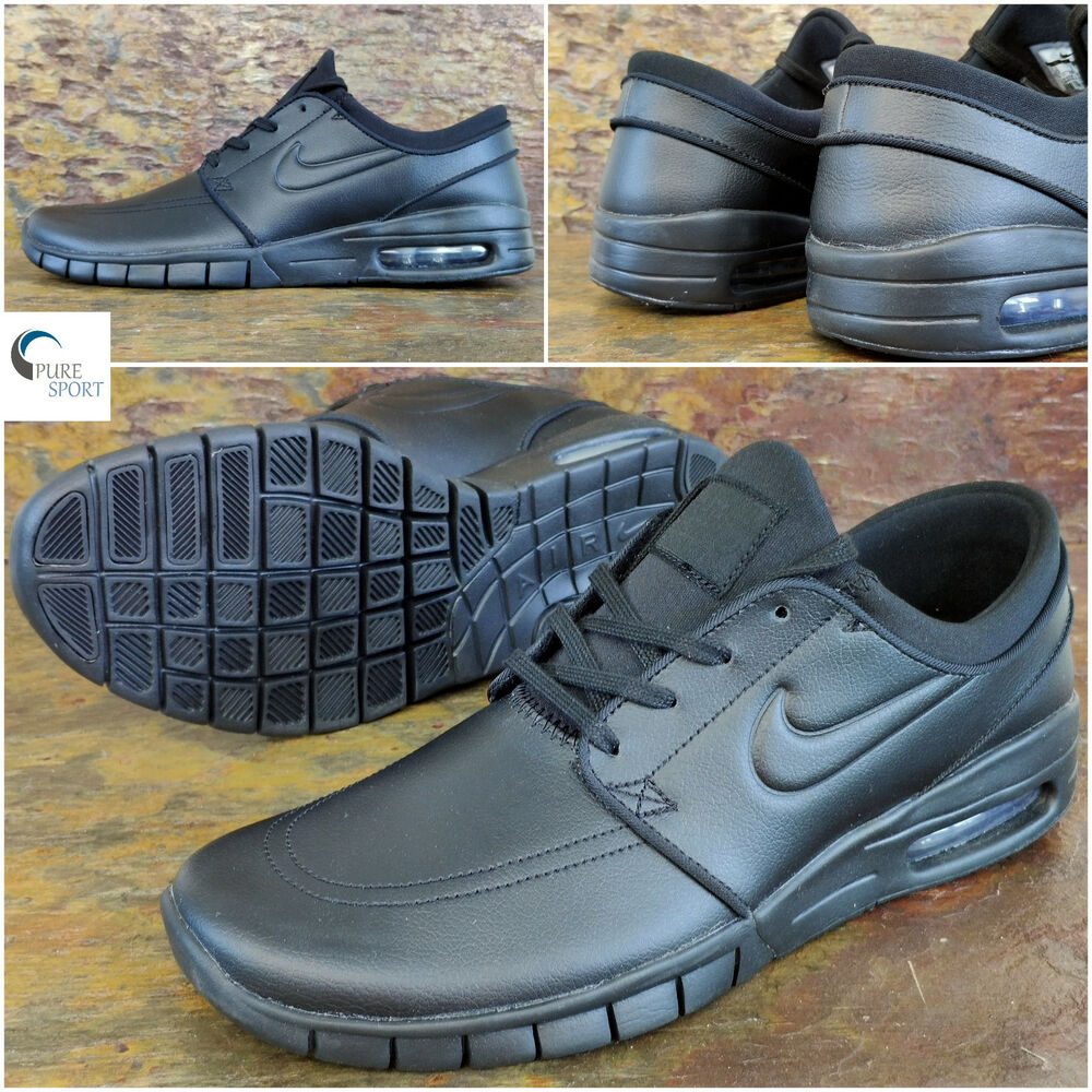 new arrivals 720b9 d46a6 Details about NIKE SB Stefan JANOSKI MAX Leather New Mens Trainers Uk 9 Eu  44 685299-009