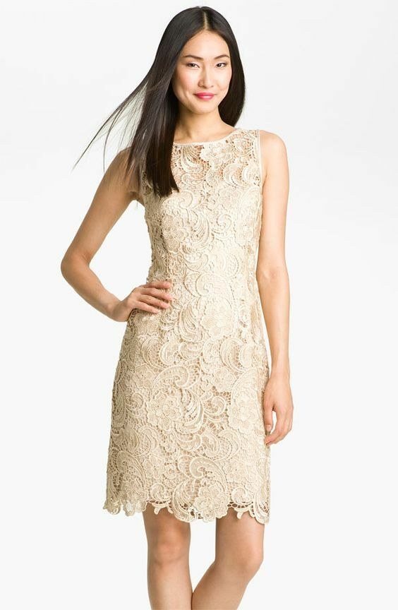 Details about Adrianna Papell lane bryant mother of bride illusion crochet  sheath dress 22w 60442bb8e821