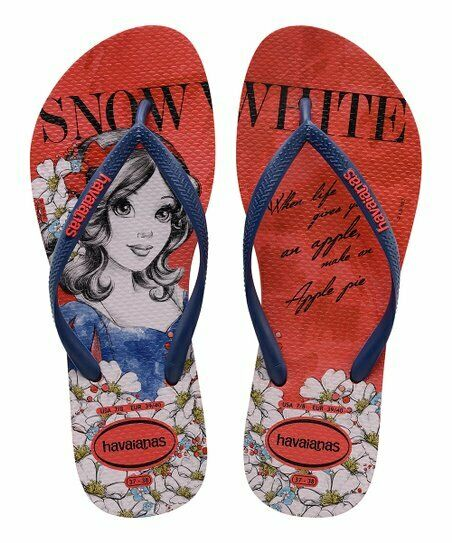 c281744b25444 Details about NEW Havaianas Women s Snow White Flip Flops (Size 11 12)