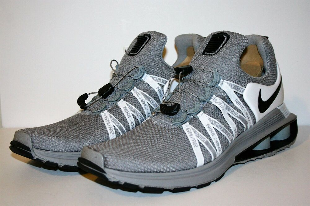 4a96e10b5d2c Details about AUTHENTIC NIKE SHOX Gravity Grey Black White NZ AR1999 010  Running Shoe Men size