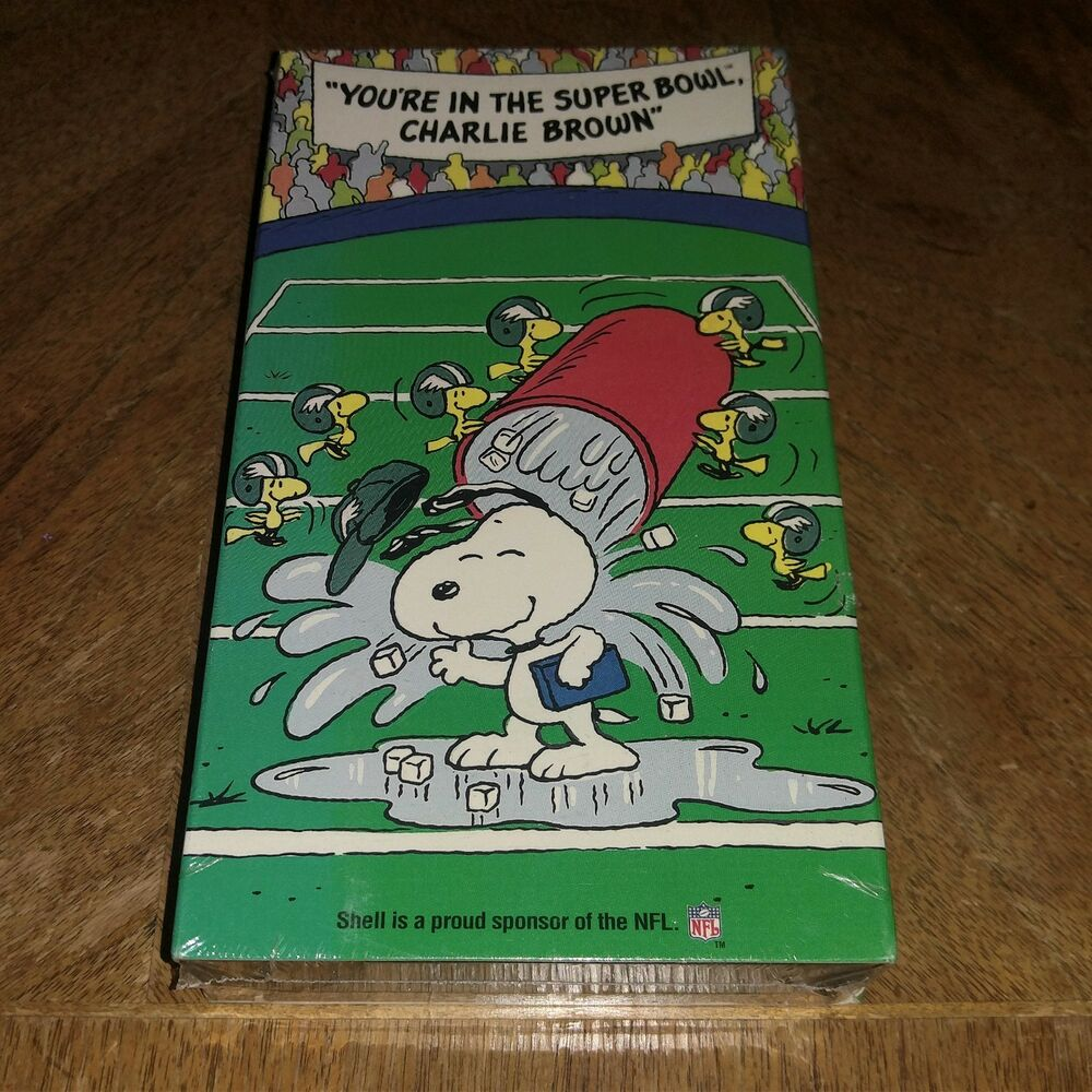 Details about YOU RE IN THE SUPER BOWL CHARLIE BROWN VHS BRAND NEW SEALED PHILADELPHIA  EAGLES b5fbd04b1
