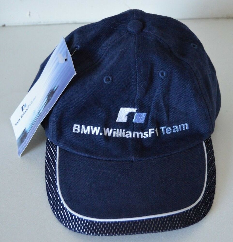 BMW Williams F1 Team Cap Nortel Navy New with Tags Racing Collectors item  Fan  b9132da4f9