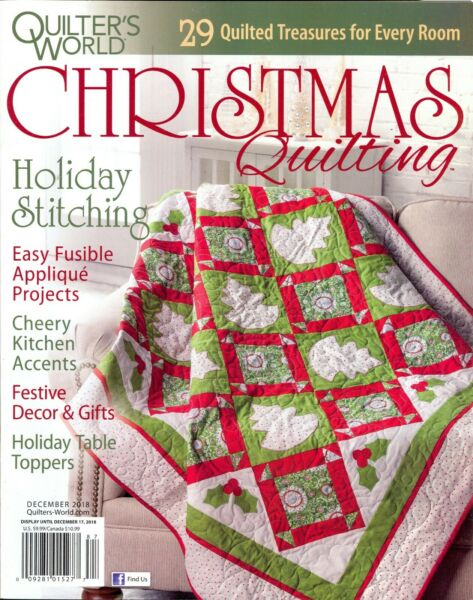 Quilter's World Presents:Christmas Quilting December 2018