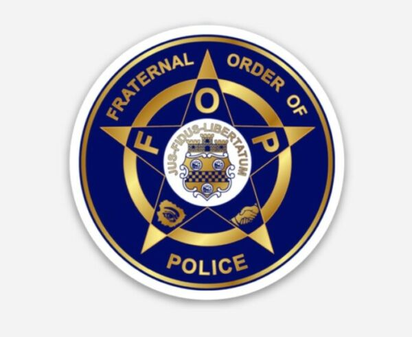 Fraternal Order Of Police Collectible Fridge Magnets (SET OF 4)