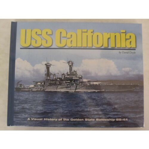 book-uss-california-a-visual-history-of-the-golden-state-battleship-bb44