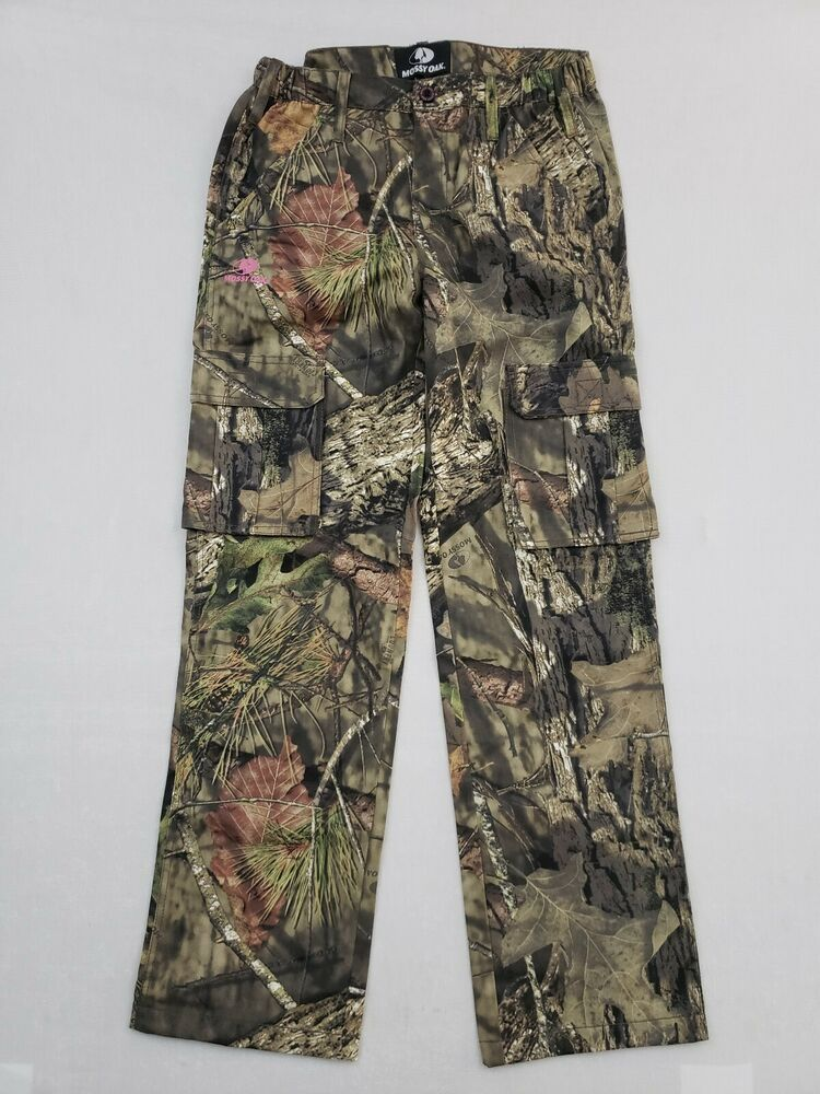 fc5d7fe59f3d2 Details about NEW Mossy Oak Break-Up Country Women's/Ladies Large Camo  Cargo Pants Hunting