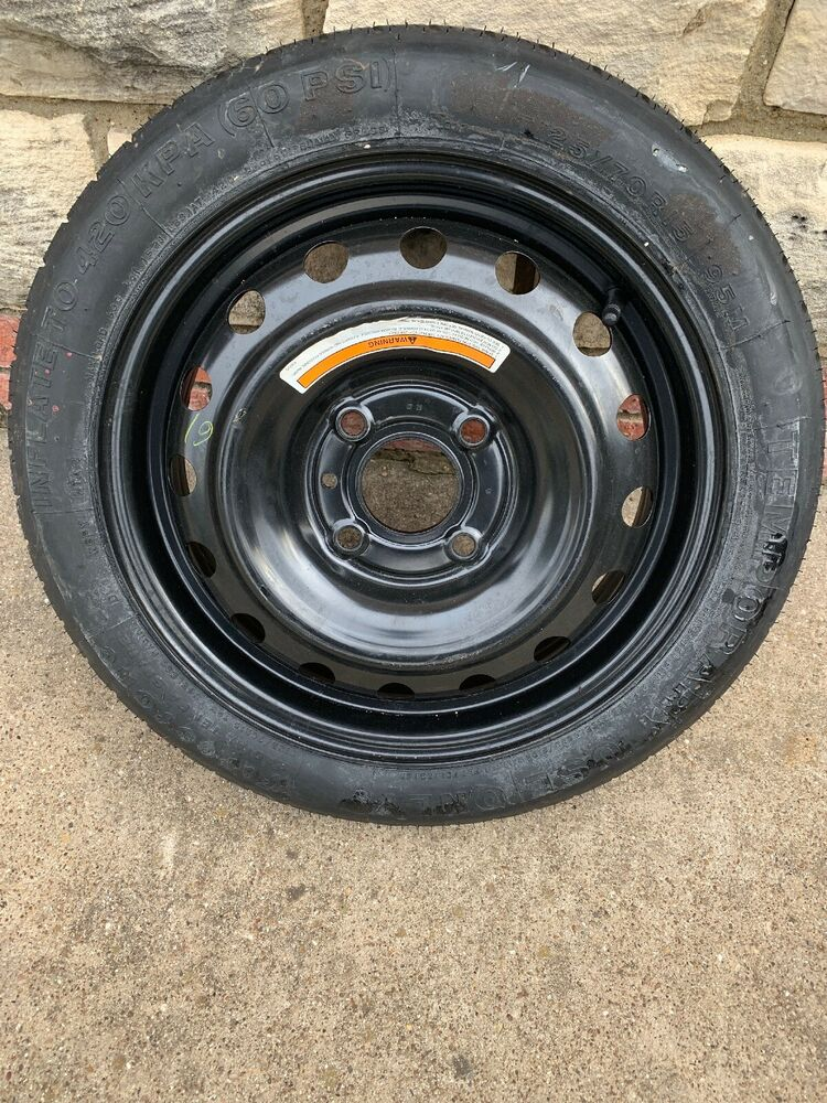 20072012 Nissan Versa Spare Tire Pact Donut Oem T12570d15 Rhebay: Nissan Versa Spare Tire Location At Gmaili.net
