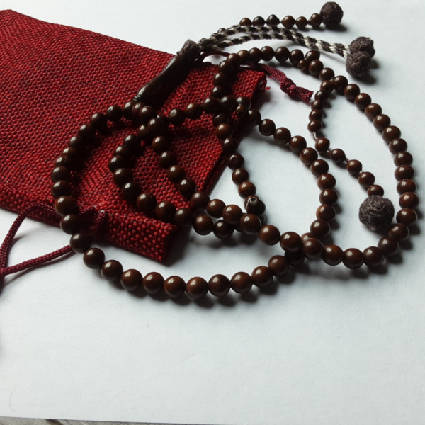 Handcrafted Natural Premium Kuk Wood 100 Tasbih/Sibha/Islamic Prayer Beads (6mm)