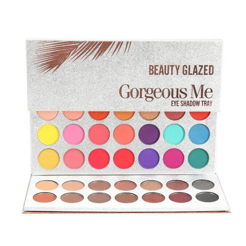 Beauty Essentials Hot Sale New Beauty Glazed Professional Makeup 63 Colours Eyeshadow Palette Pigment Matte Makeup Palette Cosmetics