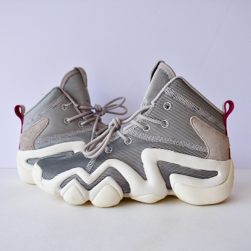 low priced 385ab ef772 Details about adidas Originals Crazy 8 ADV Metallic Womens Size 5.5 Grey  White Pink CQ2846