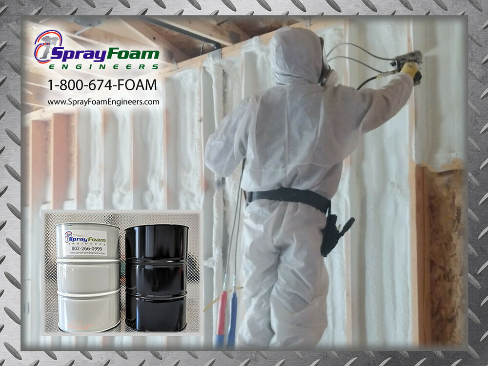 Spray Foam Insulation Kit Contractor Foam Barrels A