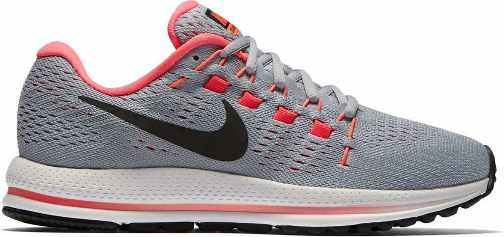 07e69ef565cf Details about Nike Women s Air Zoom Vomero 12 - Wolf Grey Black-Pure  Platinum (863766-002)