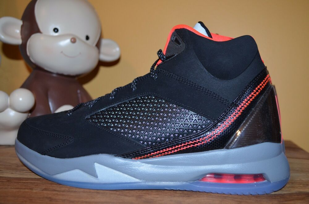 on sale 29595 c5a34 Details about NEW AIR JORDAN FLIGHT REMIX 9.5 - 10.5 Black Infrared 23 Cool  Grey 679680-020 v