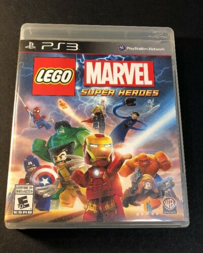 LEGO Marvel Super Heroes [ First Print Black Label ]  (PS3) USED