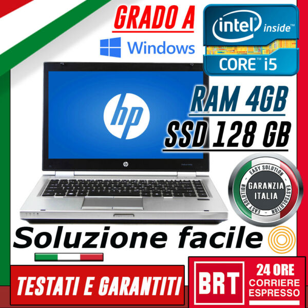 PC NOTEBOOK PORTATILE HP 8460P 14